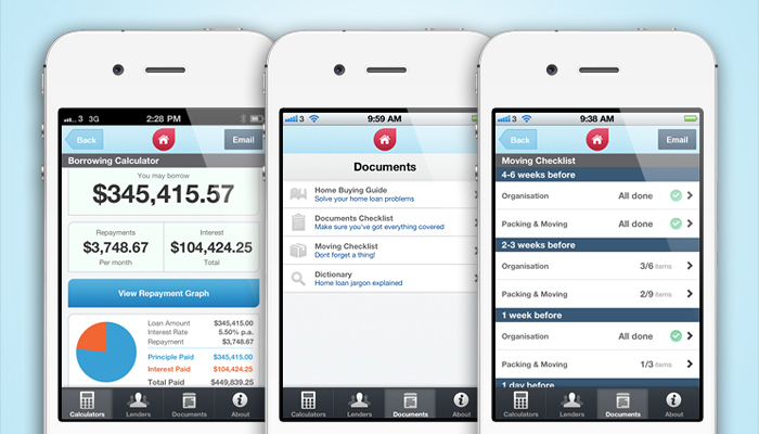Home Loan Finder iPhone App Preview