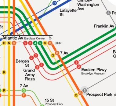 Design: New York City Subway Map Redesign