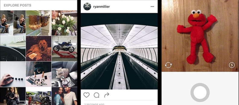 Apps: Instagram is quietly testing a black-and-white design